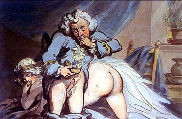 Sex and Drugs in 18th century England